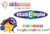 Aidostage.com, Etudiemploi.com, Chambretudiant.com, Bonplanetudiant.com