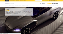 site Renault